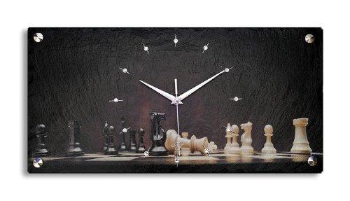 Reloj de Ajedrez Decorativo _ Reloj de Pared_Reloj Decorativo