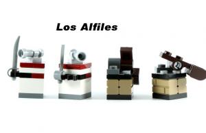 Alfiles de Ajedrez Lego Piratas - Pirates Chess Lego