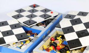 Tablero de Ajedrez Lego Piratas Cerrado