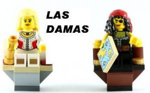 Las Damas de Ajedrez de Lego Priratas - Pirates Chess Lego