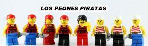 Peones de Ajedrez Lego Piratas