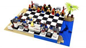 Tablero de Ajedrez Lego Piratas - Chess Pirate Lego