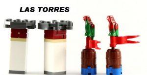 Torres de Ajedrez Lego Pitratas