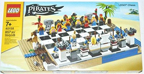 LEGO Pirates Juego de ajedrez - juegos de construcción (Cualquier género, Multi)