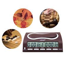 LEAP PQ9903 Temporizador Reloj Digital Ajedrez Chino Weiqi Juego de Tablero