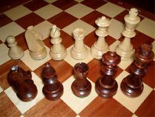 Ajedrez, Piezas de ajedrez de madera Staunton Nr 4