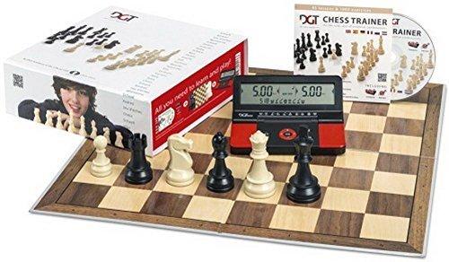 DGT Red Starter Box Chess Set by DGT