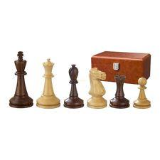 Piezas de ajedrez - Augusto - Madera - Moderna Staunton - Altura rey 100 mm