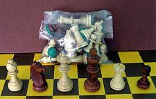 Piezas de ajedrez de madera Staunton Nr 7