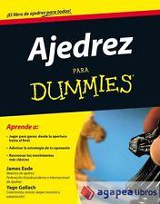 Ajedrez para Dummies. LIBRO NUEVO. ENVÍO URGENTE (Librería Agapea)