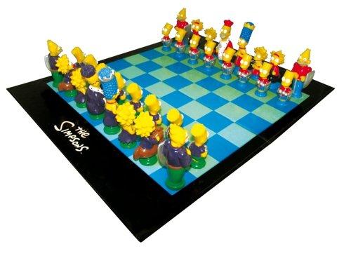 The Simpsons - Schachspiel