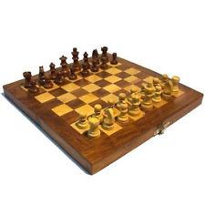 Ajedrez 31x31cm figuras tablero juego de mesa madera tradicional