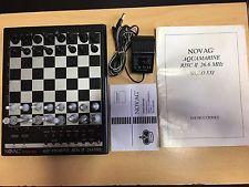 Ajedrez electrónico Novag Aquamarine Risc II 26.6MHz Siglo XXI