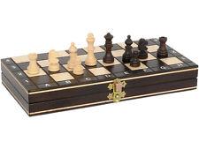 Ajedrez madera magnético plegable 27x27 cm - T40081