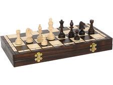Ajedrez madera plegable 27x27 cm - T40080