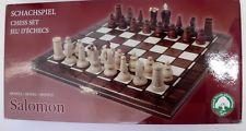 Albatros Schachspiel SALOMON / 31,5 x 31,5 cm Schach Holz