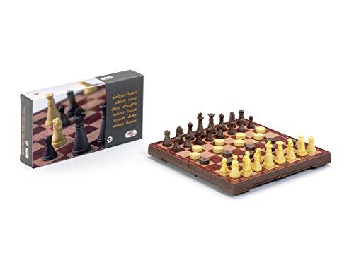 Cayro - Ajedrez-Damas, juego magnético de viaje (450)