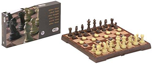 Cayro - Ajedrez-Damas, juego magnético grande (455)