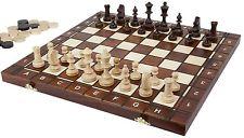 Wooden Backgammon Albatros chessboard MATADOR [Import germany] - UK SELLER