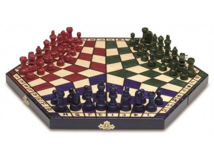Cayro - Ajedrez plegable, para 3 jugadores (60163)
