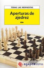 Aperturas de ajedrez. LIBRO NUEVO. ENVÍO URGENTE (Librería Agapea)