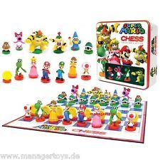 Super Mario Schachspiel Chess Schach COLLECTORS EDITION Nintendo Schach