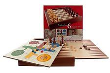 Aquamarine Games - 6 juegos clásicos: ajedrez, damas, backgammon, oca, parchís,