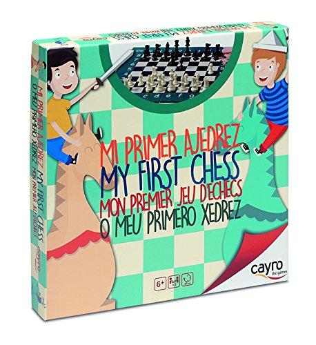Cayro 169 - Kids Mi Primer Ajedrez (+6 Años)