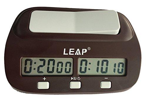 Digital Multifuncional Pantalla Reloj de ajedrez Cuenta hasta Down Temporizador Electrónica Junta Juego Competición Reloj