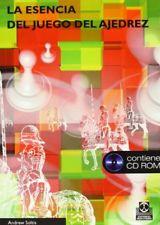 ESENCIA DEL JUEGO DEL AJEDREZ, LA (Libro+CD)