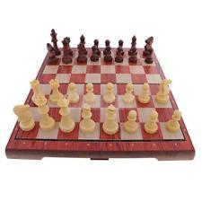Damas internacionales plegable magnético de madera del tablero de ajedrez