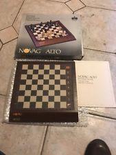 Rare NOVAG ALTO Chess Computer + working perfect+ manual And Box