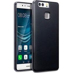 Anymode Funda silicona gel para Huawei P9 negro