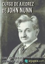 Curso de ajedrez de John Nunn. NUEVO. ENVÍO URGENTE (Librería Agapea)
