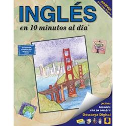 INGLÉS en 10 minutos al día (INGLES en 10 minutos al dia): Curso de idiomas para principiantes y estudios avanzados. Incluye libro, tarjetas flash, ... bilingües, Inc. (editor) (10 minutes a day®)