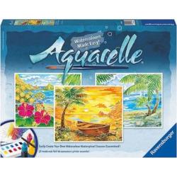Ravensburger Aquarelle Watercolor Set, Beach Para