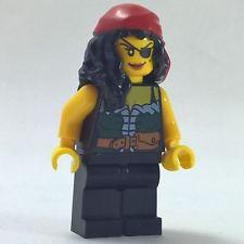 1 LEGO Minifigura Reina de ajedrez Pirates