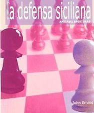 DEFENSA SICILIANA: APRENDA APERTURAS. ENVÍO URGENTE (ESPAÑA)