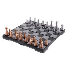 Juego de ajedrez magnético con tablero de ajedrez plegable para niños y