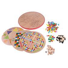 Juego de ajedrez multifuncional de madera 10 en 1 para niños juguetes
