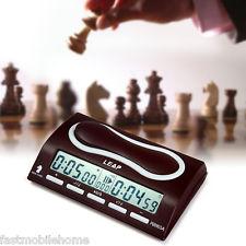 LEAP PQ9903A Profesional Reloj de Ajedrez Juego de Mesa para I-go Gomoku 29Modos