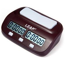 Leap PQ9907S Digital Reloj de Ajedrez I-Go Conde Arriba Abajo Timer para Casa