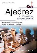Ajedrez en 20 lecciones para principiantes. ENVÍO URGENTE (ESPAÑA)
