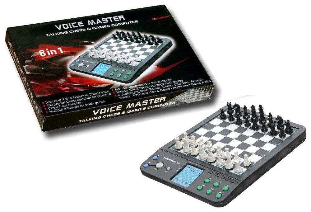 1 punid za 64 Grids Push Switch habla inglés Alemania ajedrez electrónico ordenador ajedrez magnético viaje enseñanza programa principiantes