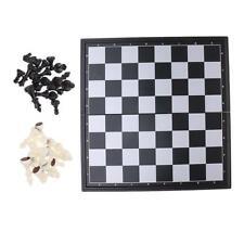 Juego de ajedrez internacional magnético plegable tablero piezas de ajedrez