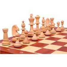 Conjunto ajedrez de Caoba 48 cm.