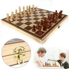 Juego ajedrez de torneo caja de tablero plegable juguetes de aprendizaje Niños