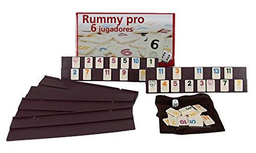 Aquamarine Games - Rummy, 6 jugadores (DO001)