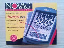 Computadora De Ajedrez - Amethyst Plus - Novag 1997 ¡¡¡RARISIMO!!!