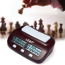 Leap Pq9907s Digital Reloj de Ajedrez I-Go Conde Up Down Timer para Game Contest